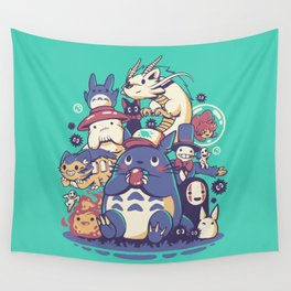 Creatures Spirits and friends Wall Tapestry