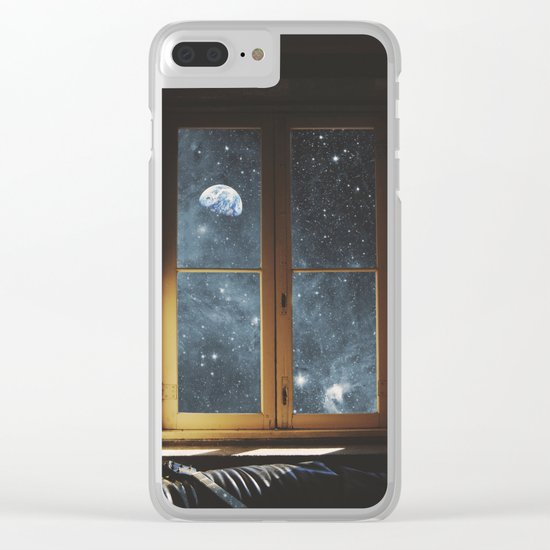 WINDOW TO THE UNIVERSE Clear iPhone Case