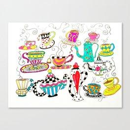 Coffee or Tea? Canvas Print