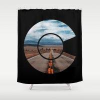 colorado Shower Curtains featuring Colorado by Spyck