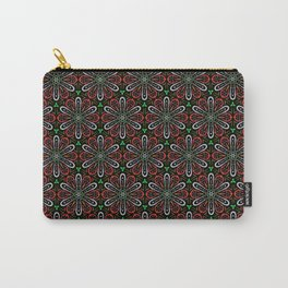 Mandala Repeating Pattern Carry-All Pouch