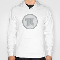 pi Hoodies featuring Pi by Lady Starc