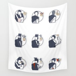 Shakespeare Characters Wall Tapestry
