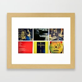 Singing My Blues to You Framed Art Print
