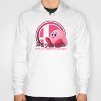 super smash bros Hoodies featuring Kirby - Super Smash Bros. by Donkey Inferno
