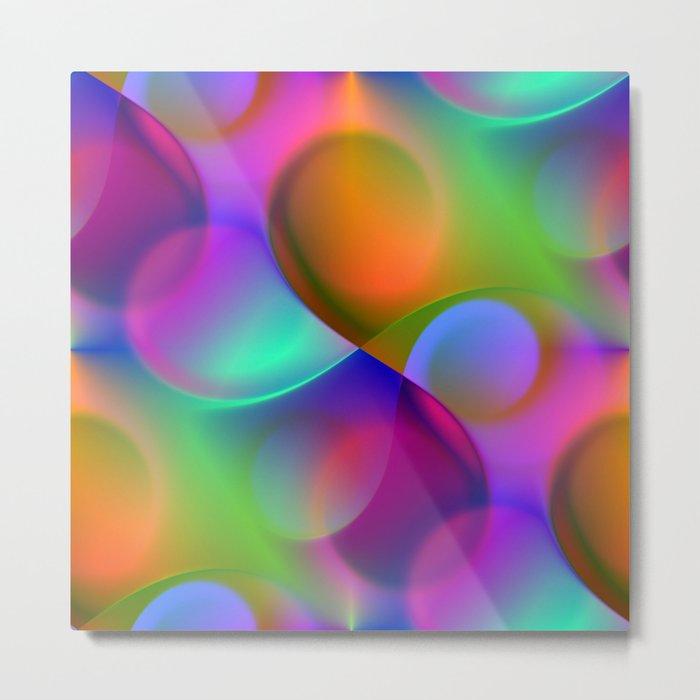 vortex colors Metal Print