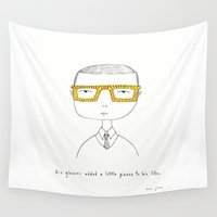 marc Wall Tapestries featuring pizazz by Marc Johns