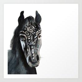 Shadow Wild Heart Horse Art Print