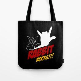 Rabbit Rocks Tote Bag
