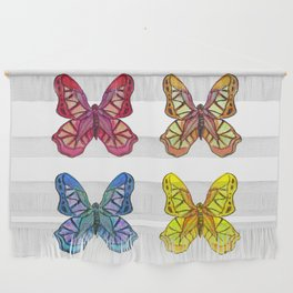 Bejeweled Butterflies Wall Hanging