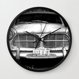 Old Volvo Wall Clock