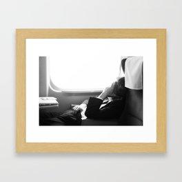 The Bullet Train Framed Art Print