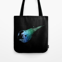 Final Fantasy VII logo universe Tote Bag