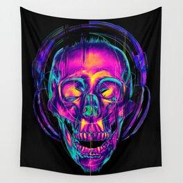 Trippy Skull Wall Tapestry
