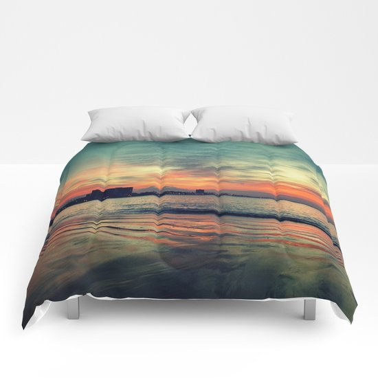 In Beetween Night & Day Comforters