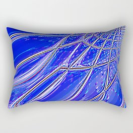 Re-Created Web of Lies13 by Robert S. Lee Rectangular Pillow