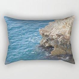 Albanian Cliffs Rectangular Pillow