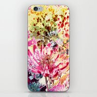aelwen iPhone & iPod Skins featuring waterlily by clemm