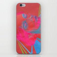 If Your Skull Was Fushia iPhone Skin