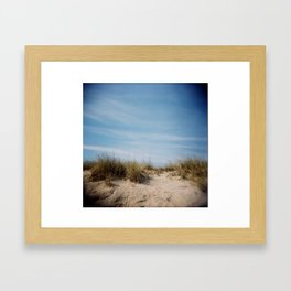 Beach 01, Holga Framed Art Print