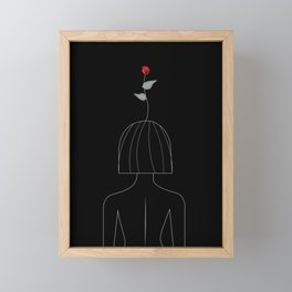 Grow & Flourish Framed Mini Art Print