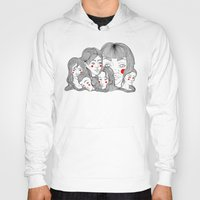 talking heads Hoodies featuring Heads by meau