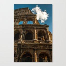 Colosseum (Portrait) Canvas Print