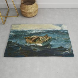 Winslow Homer1 - The Gulf Stream - Digital Remastered Edition Rug