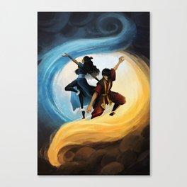 Zutara: Elements Canvas Print