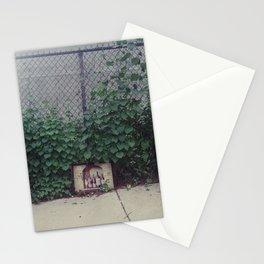 wine, trash Stationery Cards