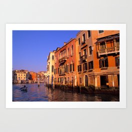 View of Canal Grande - Venice, Italy Art Print