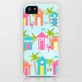 Tropical Cabanas iPhone Case