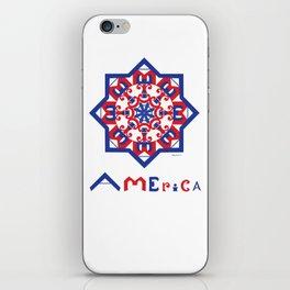 American Star iPhone Skin