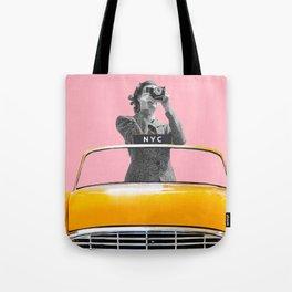 New York Ride Tote Bag