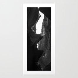 Bottom Of The Canyon II Art Print