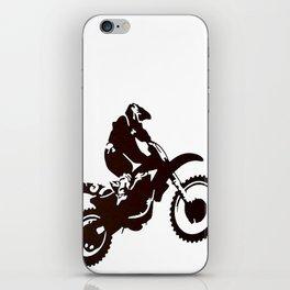 Motor X Silhouette iPhone Skin