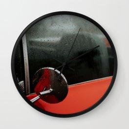 driver's seat Wall Clock
