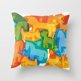 Farm of Joy Throw Pillow