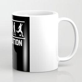 Football Evolution Coffee Mug