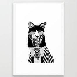 Howlin'  Framed Art Print