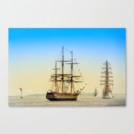 Sail Boston - Oliver Hazard Perry Canvas Print