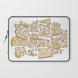 Buy Pizza Someplace Else! Laptop Sleeve
