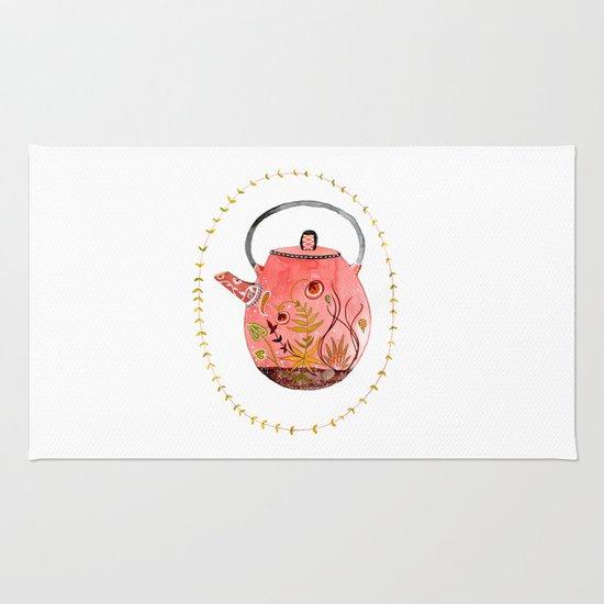 teapot terrarium Rug