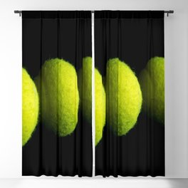 Tennis Balls Blackout Curtain