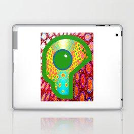 Futuristic Cyborg Logo 14 Laptop & iPad Skin