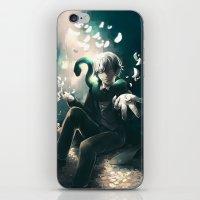 kuroshitsuji iPhone & iPod Skins featuring Snake by 1MI0