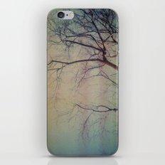 light leaked, tree. iPhone & iPod Skin