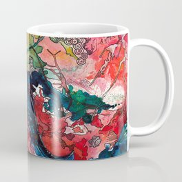 Swirls and Splatters Coffee Mug