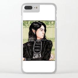 Goth Elf Clear iPhone Case