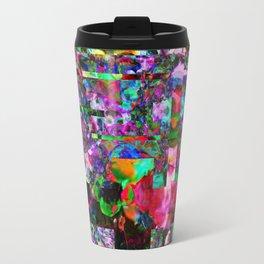 Vertical Floral Travel Mug
